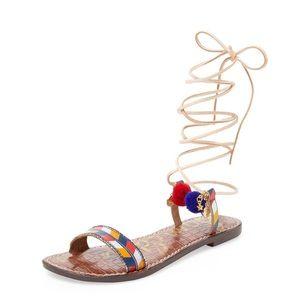 Sam Edelman Lancie Ankle Wrap Sandals